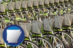 arkansas bicycles for rent