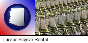 bicycles for rent in Tucson, AZ